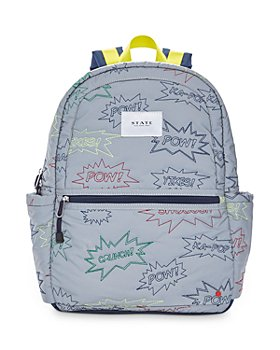 STATE - Kane Kids Embroidered Exclamations Backpack