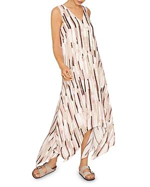 Eco Printed Handkerchief Dress