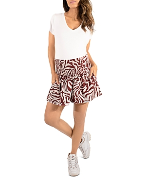Maternity Animal Stripe Everywear Shorts