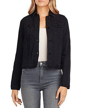 Joe's Jeans - The Standard Trucker Denim Jacket in Onyx Black