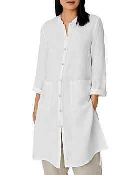 Eileen Fisher - Linen Long Tunic