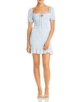Lost and Wander - Seaside Breeze Mini Dress