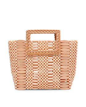 URBAN EXPRESSIONS - Del Mar Wooden Bead Tote (50% off) - Comparable Value $80