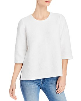 Eileen Fisher - Textured Boxy Top