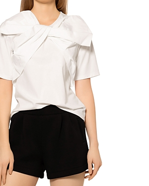 Bow Neck Knit Top (46% off)