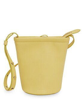 Mansur Gavriel - Mini Zip Leather Bucket Bag