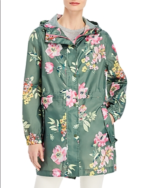 GoLightly Floral Print Packable Raincoat
