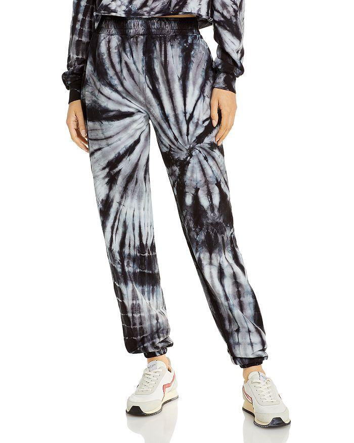 Year Of Ours Cottons YEAR OF OURS ZEBRA TIE DYE BOYFRIEND SWEATPANTS