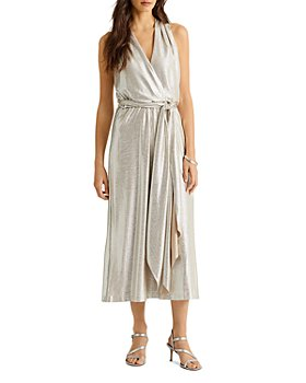 Ralph Lauren - Metallic Halter Dress