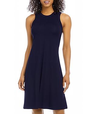 High Neck A Line Dress