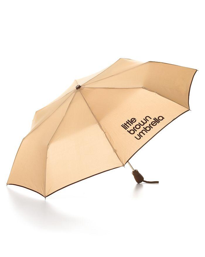 Bloomingdale's - Little Brown Umbrella - 100% Exclusive