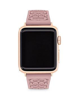 COACH - Apple Watch© Signature Rubber Strap, 38mm & 40mm