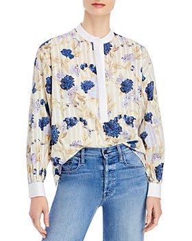 Tory Burch - Floral Print Tunic Top