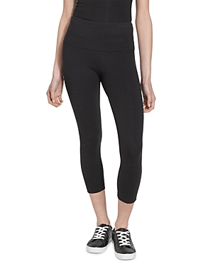Cotton Stretch Cropped Leggings