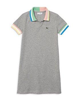 Lacoste - Girls' Colorblock Polo Dress - Little Kid, Big Kid