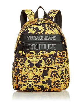 Versace Jeans Couture - Baroque Print Logo Backpack