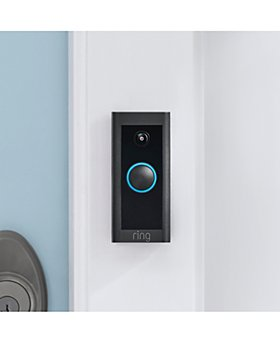 RING - Video Doorbell Wired, Black