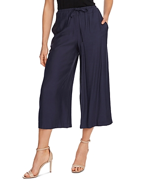 Vince Camuto Cropped Wide Leg Drawstring Pants