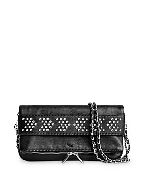 Zadig & Voltaire - Arrow Studded Foldover Chain Strap Bag