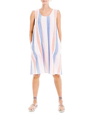 Stripe Sleeveless Short A Line Dress (70% off)