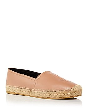 Saint Laurent - Women's Logo Embossed Espadrille Flats