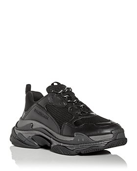 Balenciaga - Men's Triple S Metallic Low Top Sneakers