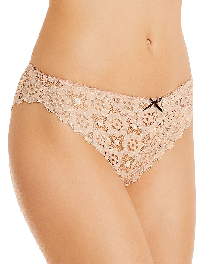 Fleur du Mal - Crochet Lace Cheeky Panty