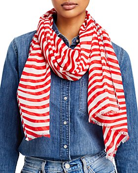 Fraas - Wave Striped Scarf