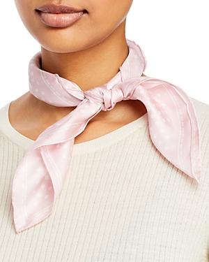Classic Dottie Square Silk Scarf
