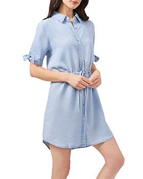 VINCE CAMUTO - Denim Shirt Dress