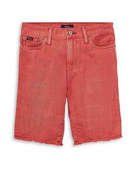 Ralph Lauren - Boys' Cotton Denim Shorts - Big Kid