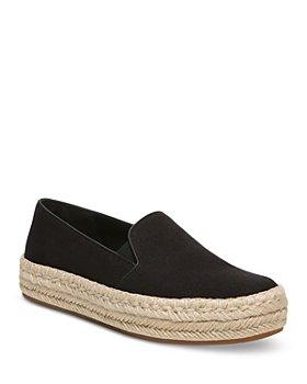 Vince - Women's Upton Organic Canvas Espadrille Slip On Platform Sneakers