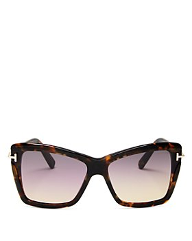 Tom Ford - Womens Leah Butterfly Sunglasses, 64mm