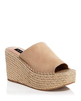 AQUA - Women's Jacy Platform Wedge Sandals - 100% Exclusive