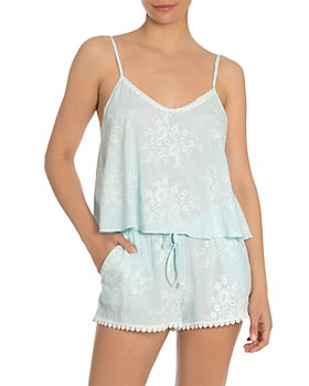 In Bloom by Jonquil - Embroidered Cami & Tap Shorts Sleep Set
