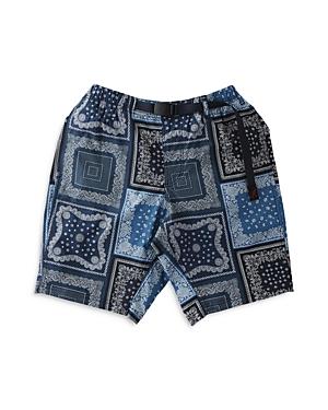 Weather Bandana Print Shorts