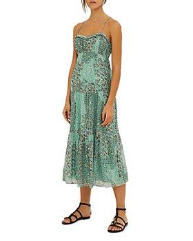 ba&sh - Odette Open Back Midi Dress