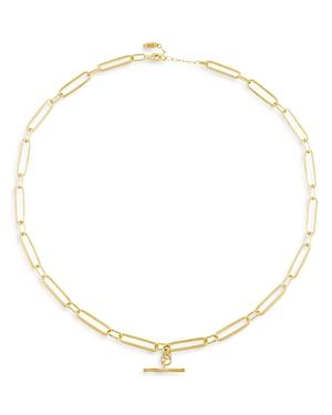 Albert Chain Link Statement Necklace