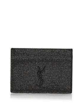 Saint Laurent - Leather Card Case