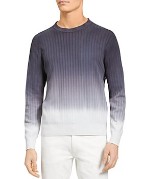 Theory - Caleb Ombre Textured Sweater