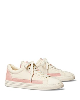 Tory Burch - Women's Classic Court Lace Up Sneakers