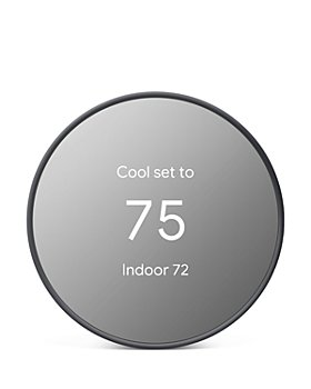 Google Nest - Smart Thermostat, Charcoal