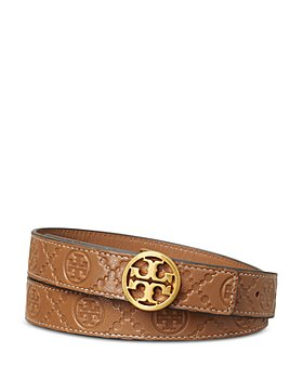 Tory Burch - Women's T Monogram Leather Belt