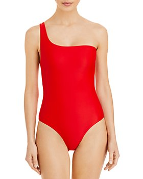 Jade Swim - Apex One Piece One Shoulder Swimsuit