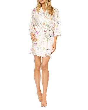Gabrielle Floral Print Kimono Robe