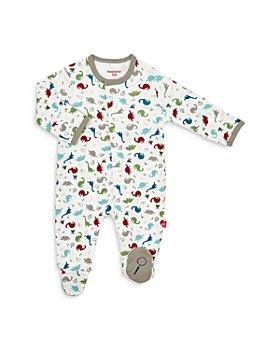 MAGNETIC ME - Unisex Cotton Dinosaur Footie - Baby