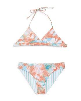 Splendid - Girls' 2-Pc. Bellini Reversible Swimsuit - Big Kid