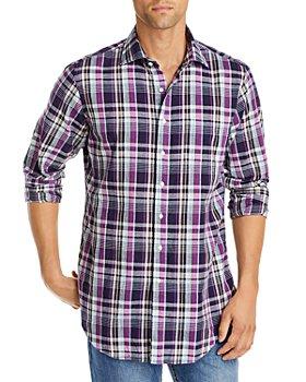 Sid Mashburn - Plaid Slim Fit Button Down Shirt