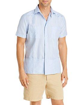 Sid Mashburn - Guayabera Slim Fit Sport Shirt