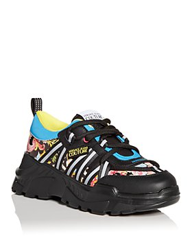 Versace Jeans Couture - Men's Floral Print Low Top Sneakers